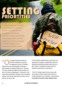 Sample article from the 2009 Veterans Enterprise