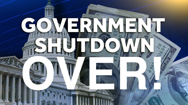 The Government Shutdown is Over