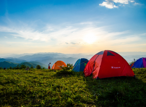 vacation days spent anywhere, like camping can be beneficial